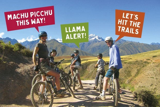 Family Cycling Holiday Peru