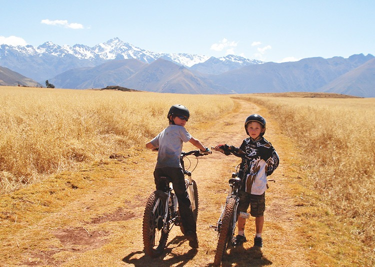 family cycling holidays buy experiences not things
