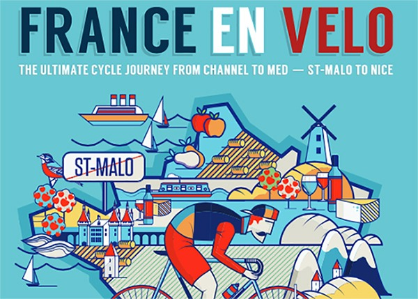France En velo St Malo to Nice France cycling holiiday
