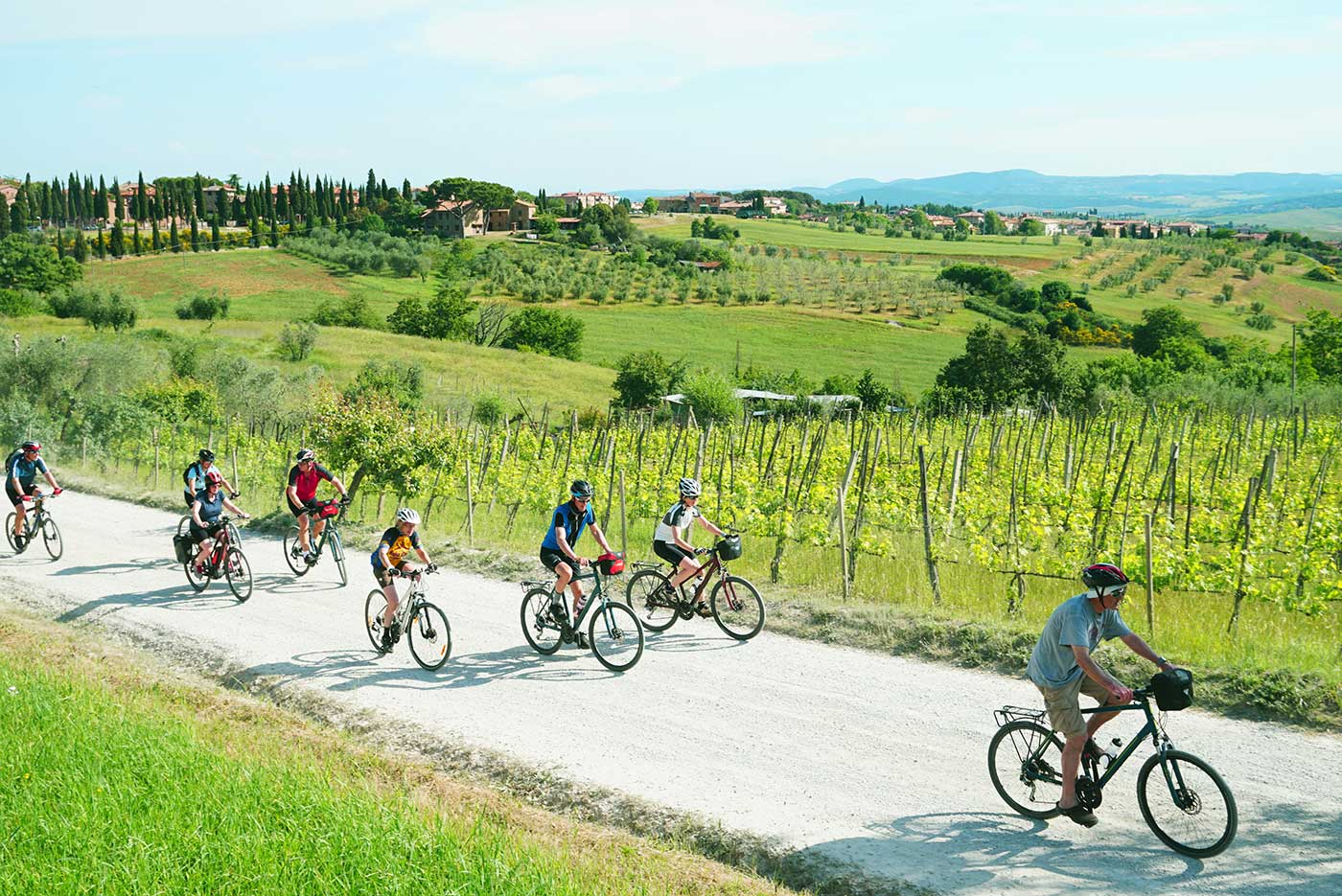 A two-wheeled treat in Tuscany