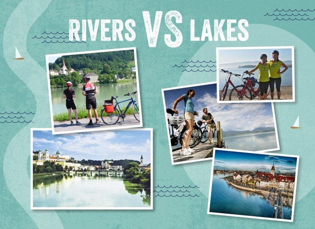 Lakes VS Rivers: Better by bike