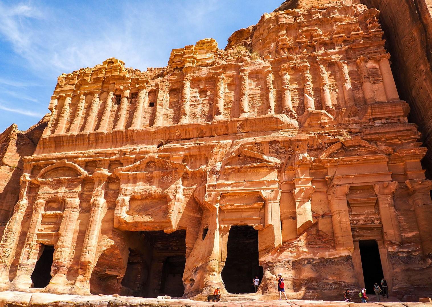 petra-jordan-holiday-cycling-adventures-saddle-skedaddle-trip.jpg - NEW! Jordan - Petra, Wadi Rum & the Dead Sea - Cycling Adventures