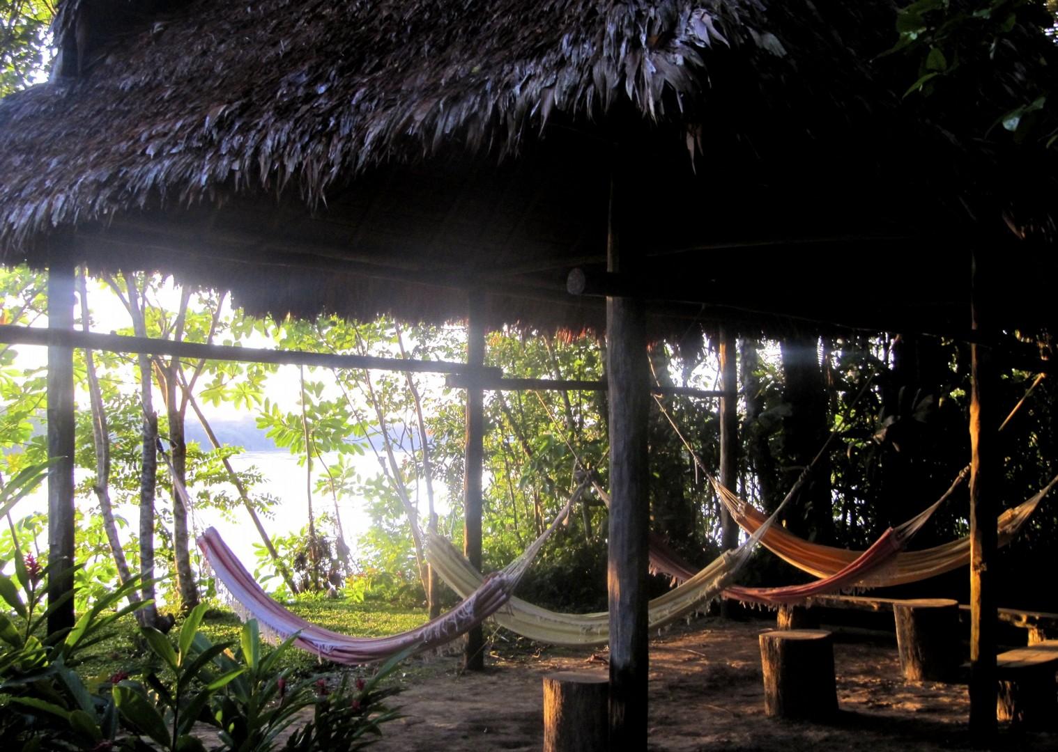 Hammocks.jpg - Peru - Andes, Amazon and Machu Picchu - Cycling Adventures