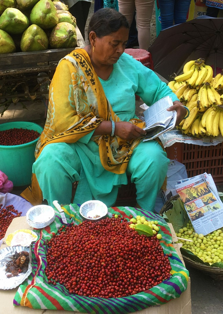 authentic-indian-market-rajasthan-cycling-holiday.jpg - India - Palaces and Lakes of Rajasthan - Cycling Adventures