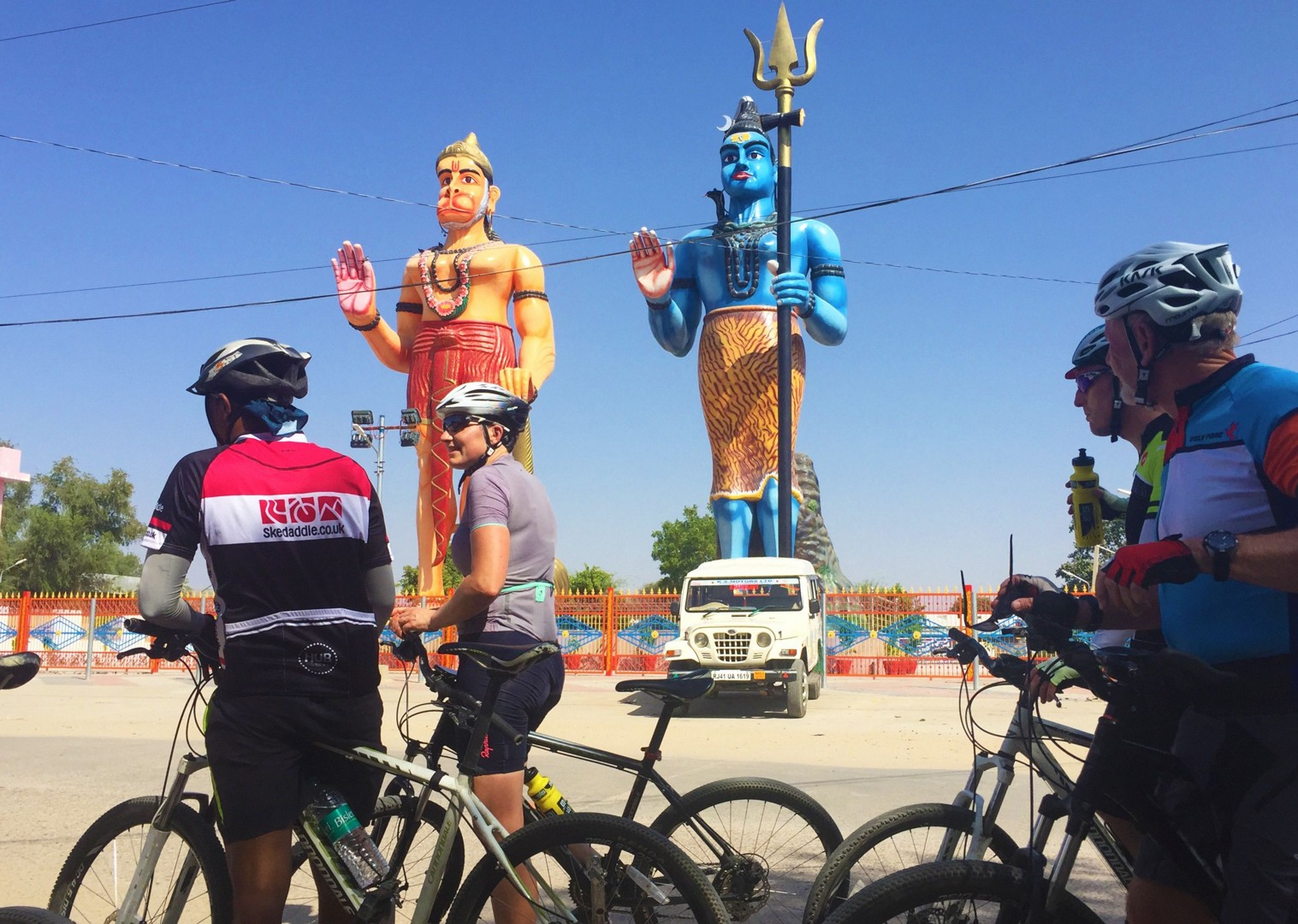 ancient-statue-cycling-adventure-rajasthan.jpg - India - Palaces and Lakes of Rajasthan - Cycling Adventures