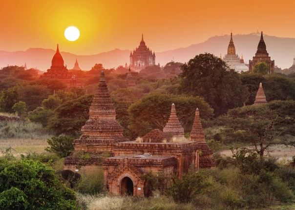 cycling-holiday-adventure-bagan-temple-sunset.jpg - Burma - Bagan and Beyond - Cycling Adventures