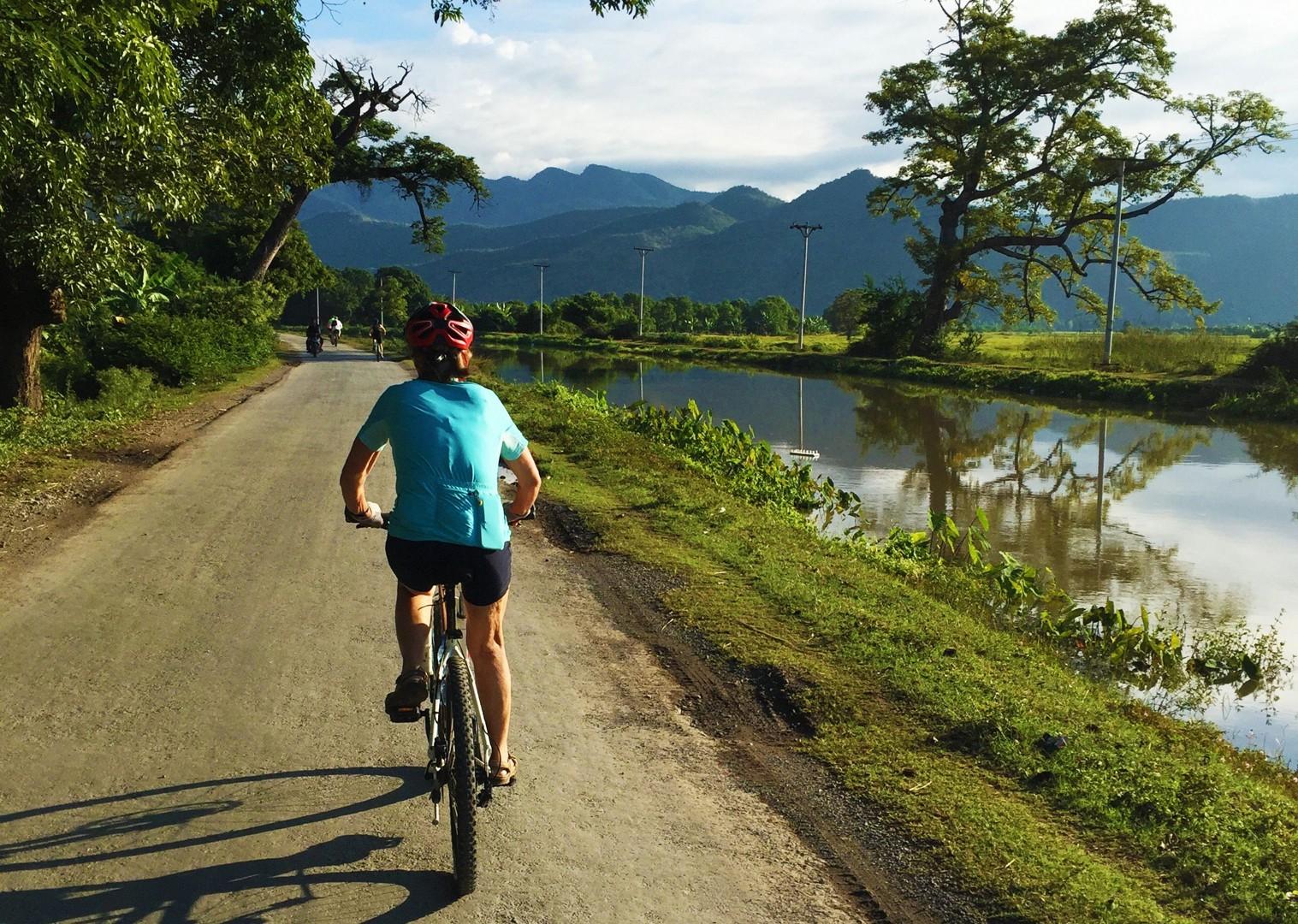 breathtaking-scenery-group-cycling-through-burma.jpg - Myanmar (Burma) - Bagan and Beyond - Cycling Adventures