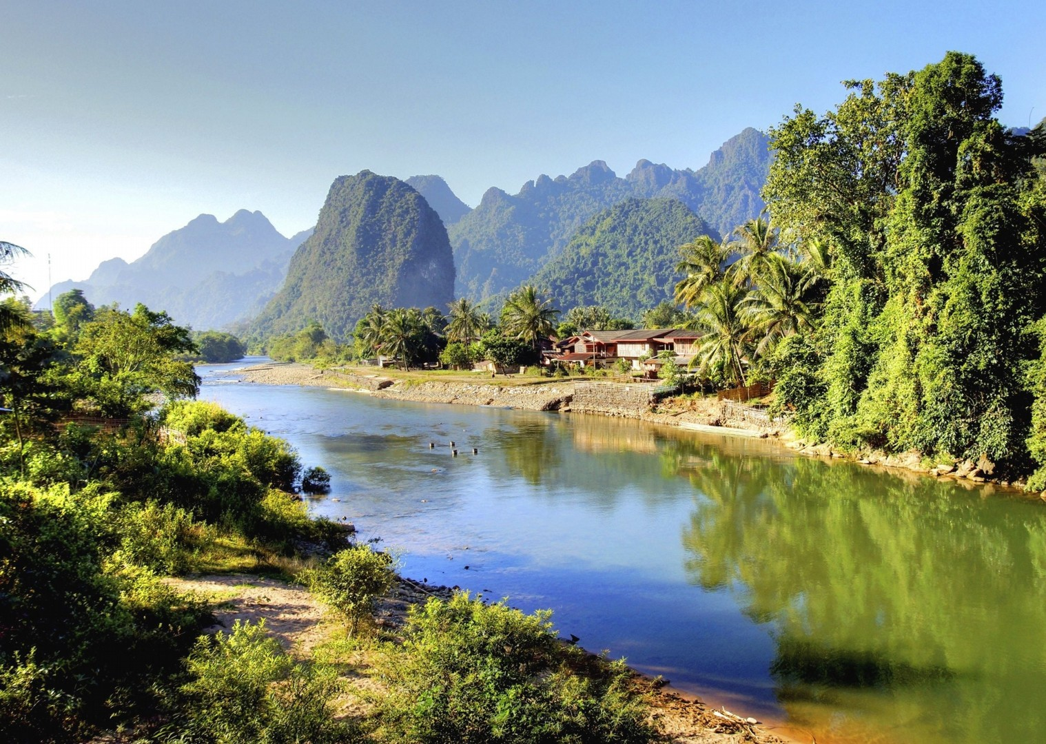 cycling-adventure-holiday-laos-landscape.jpg - Laos - Hidden Treasures - Cycling Adventures