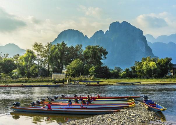 cycling-adventure-laos-holiday-NamSong-VangVieng.jpg - Laos - Hidden Treasures of Laos - Cycling Adventures