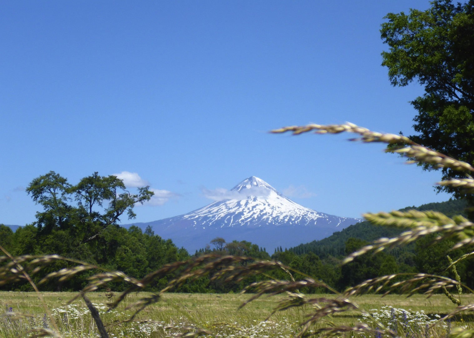 chile-landscape-valcano.jpg - Chile and Argentinian - Lake District - Cycling Adventures