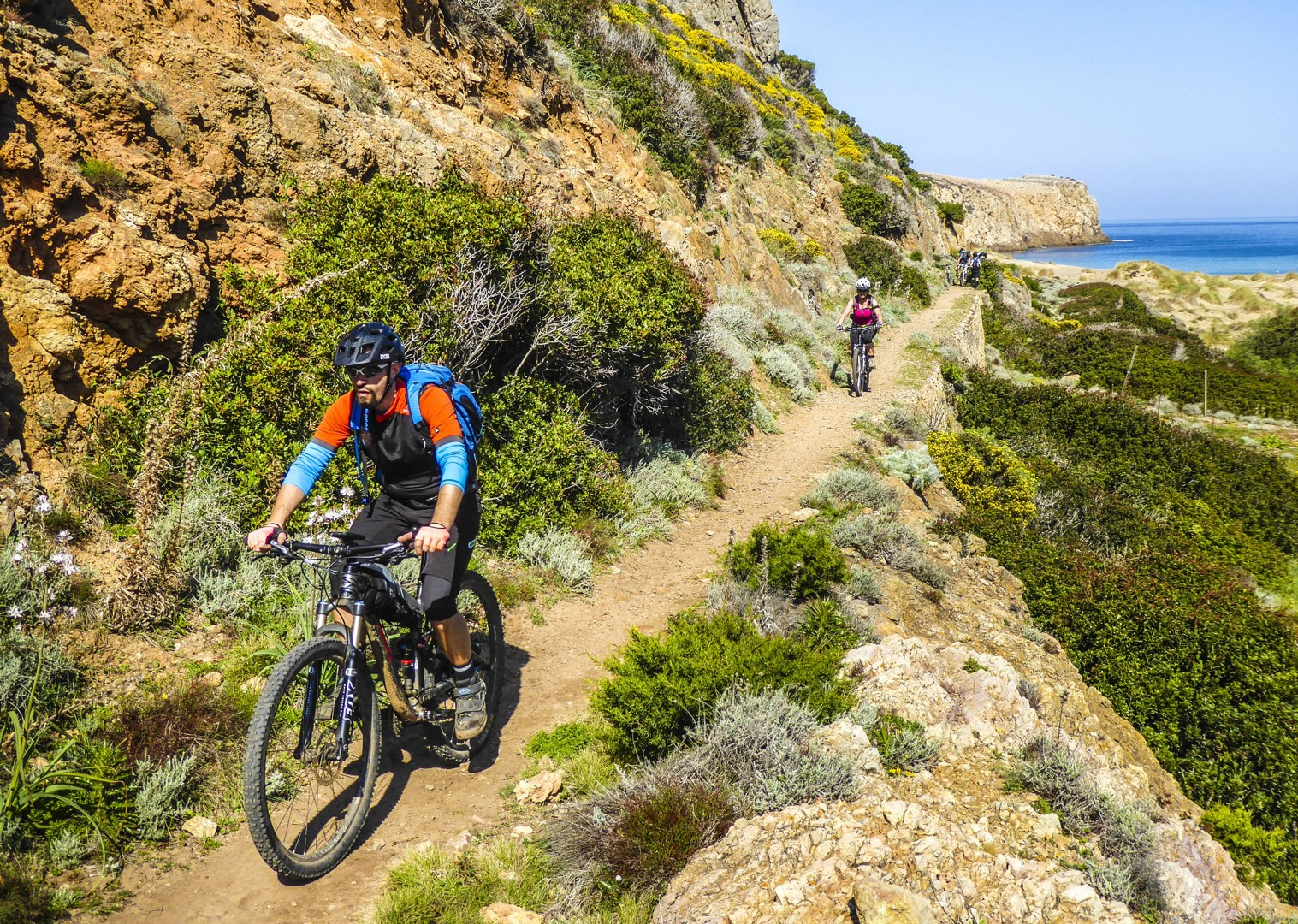 dirt-track-singletrack-mountain-biking-sardinia-italy.jpg - Sardinia - Coast to Coast - Mountain Biking