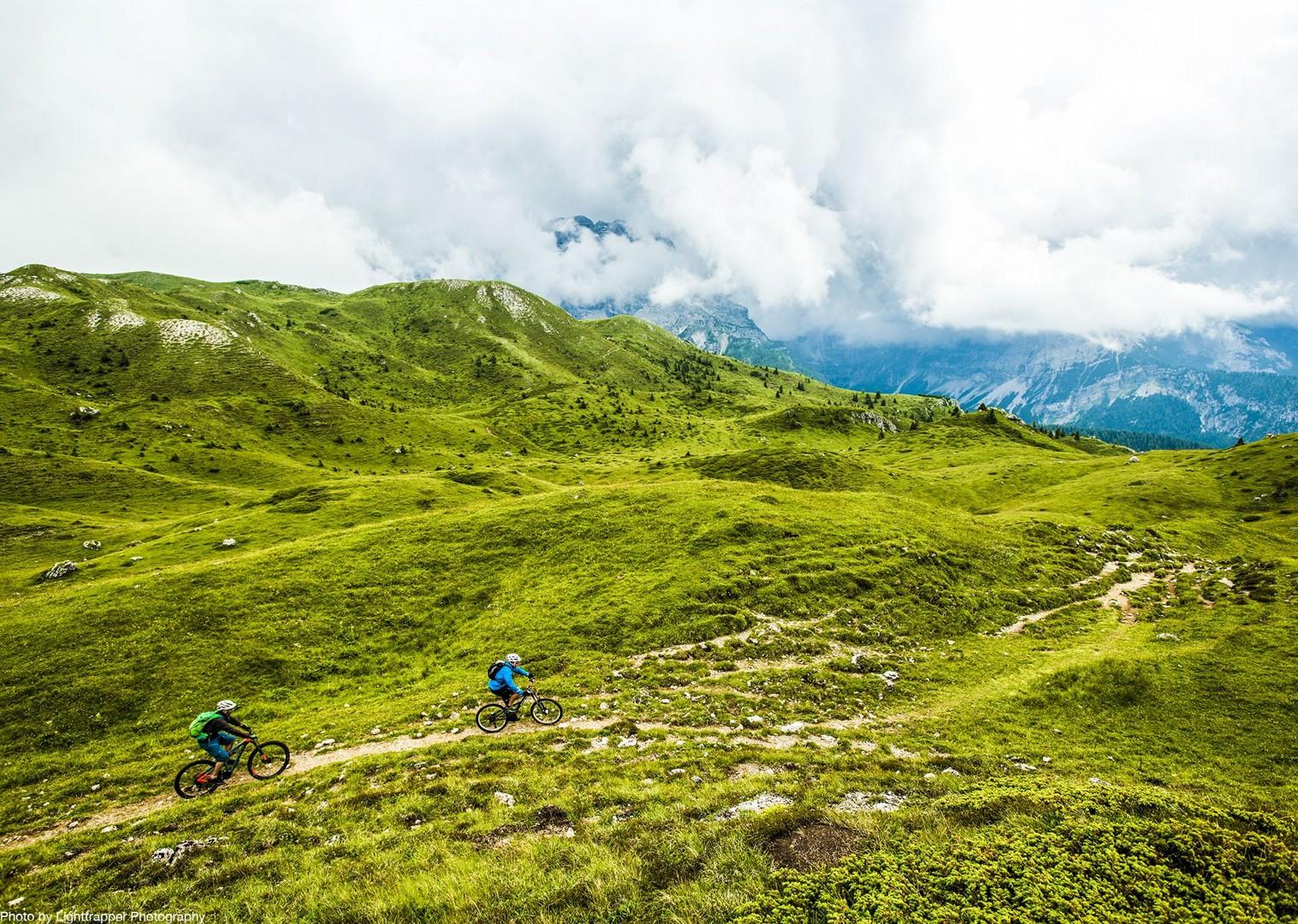 saddle_skedaddle_italy_2017_day6_brenta_dolomites_177-2.jpg - Italy - Dolomites of Brenta - Electric Mountain Bike Holiday - Mountain Biking