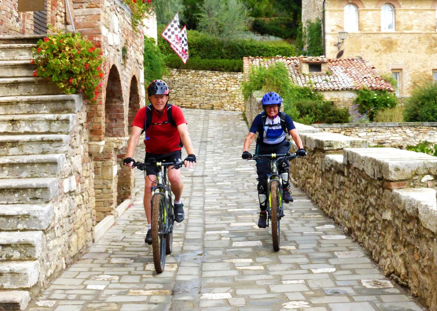 saddle-skedaddle-italy-tuscany-to-rome-mountain-bike-self-guided.jpg - Italy - Via Francigena (Tuscany to Rome) - Self-Guided Mountain Bike Holiday - Mountain Biking