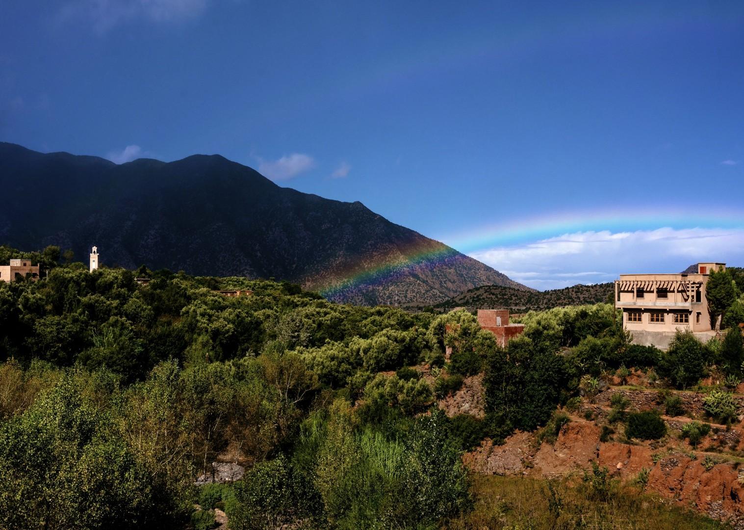 mountainbiking-mountains-landscape.jpg - Morocco - Atlas to Desert - Guided Mountain Bike Holiday - Mountain Biking
