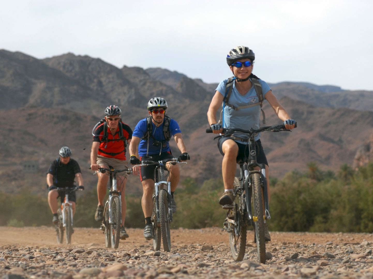 Morocco - Atlas to Desert - Guided Mountain Bike Holiday - Mountain Biking