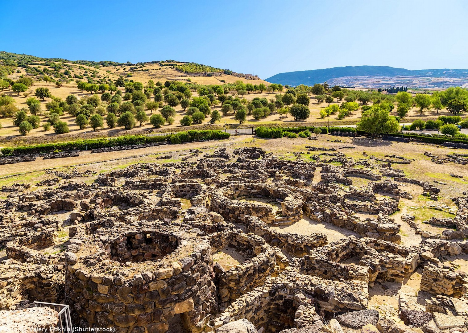 nuraghe-of-barumini-sardinia-bike-tour-italy.jpg - Italy - Sardinia - Coast to Coast - Self-Guided Mountain Bike Holiday - Mountain Biking