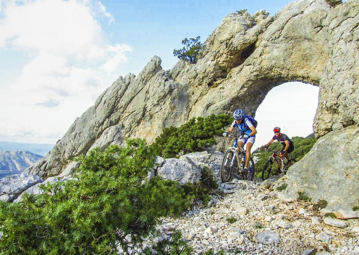 mountain-biking-in-sardinia-italy-saddle-skeaddle-self-guided.jpg - Italy - Sardinia - Coast to Coast - Self-Guided Mountain Bike Holiday - Mountain Biking