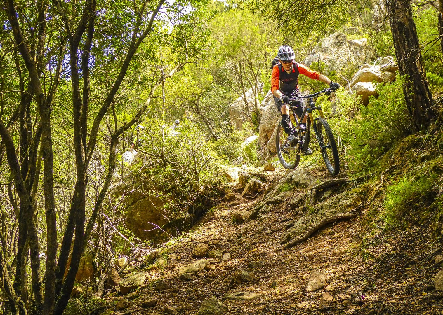 dirt-track-technical-mountain-biking-tour-sardinia-italy-self-guided - Italy - Sardinia - Coast to Coast - Self-Guided Mountain Bike Holiday - Mountain Biking
