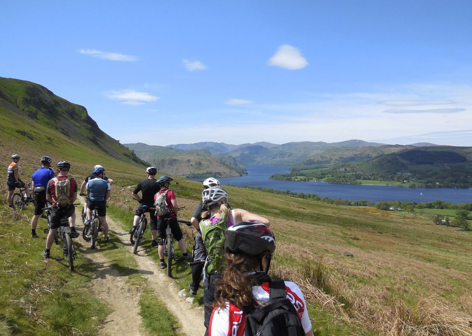 _Customer.53611.16233.jpg - UK - Lake District - Ullswater - Guided Mountain Bike Weekend - Mountain Biking