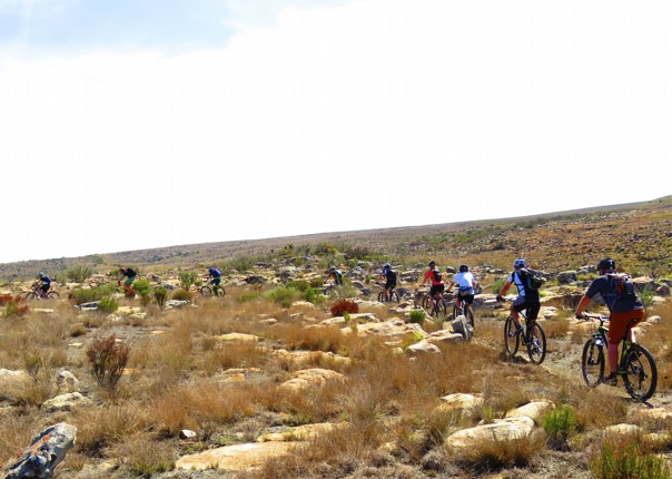 mountain-biking-safari-riders-trip-group-south-africa.jpg - South Africa and Botswana - Guided Mountain Bike Holiday - Mountain Biking