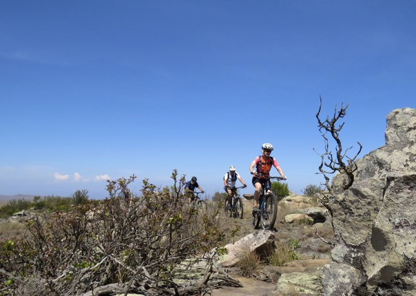 mountain-biking-holiday-safari-riding-nature-rocks.jpg - South Africa and Botswana - Guided Mountain Bike Holiday - Mountain Biking
