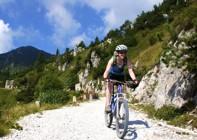 Italy - Dolomites to Lake Garda - Guided Mountain Bike Holiday Image
