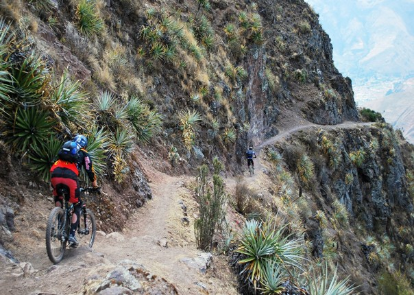 Bike Single track.jpg - Peru - Sacred Singletrack - Mountain Biking
