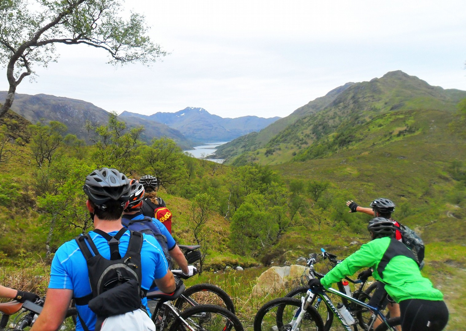 great-views-mountain-biking-scottish-highlands.jpg - Scotland - Highlands Coast to Coast - Guided Mountain Bike Holiday - Mountain Biking