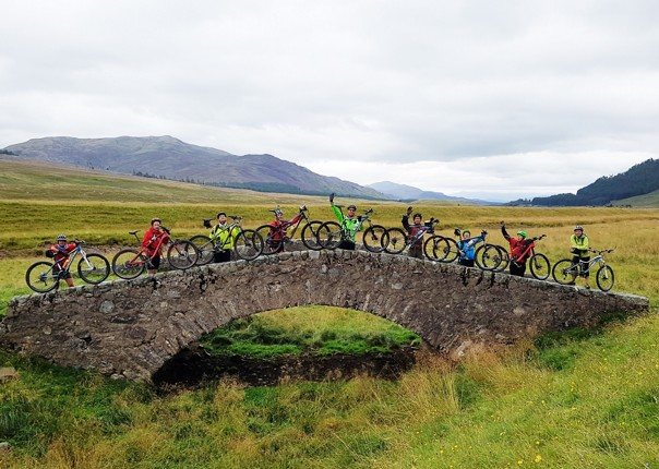 Guided Mountain Bike Holiday Highlands Coast To Coast Scotland