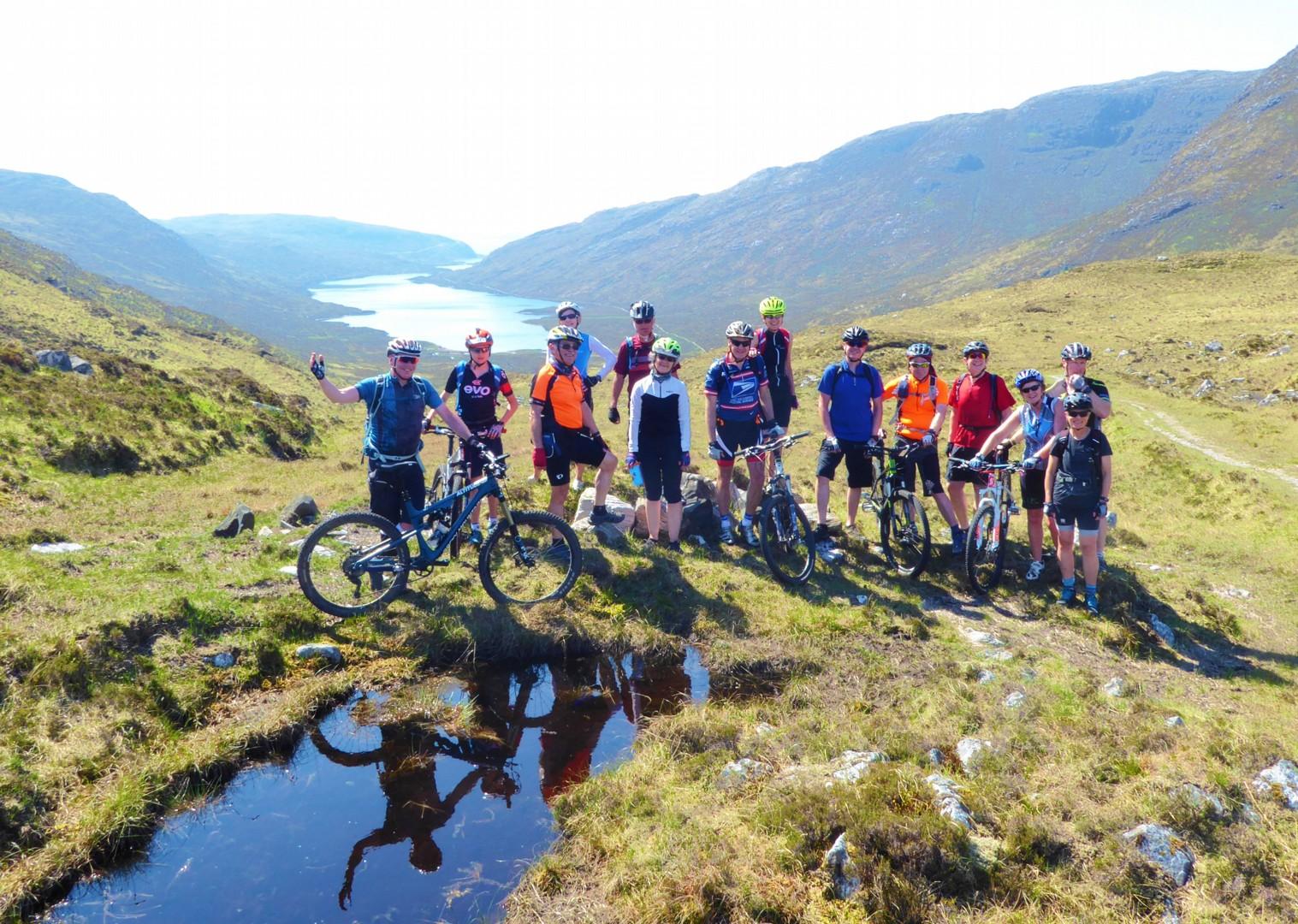 group-mountain-biking-guided-holiday-in-outer-hebrides-scotland.jpg - Scotland - Hebridean Explorer - Guided Mountain Bike Holiday - Mountain Biking