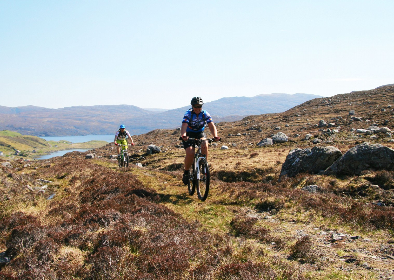 single-track-rural-landscape-mountain-biking-outer-hebrides.jpg - Scotland - Hebridean Explorer - Guided Mountain Bike Holiday - Mountain Biking