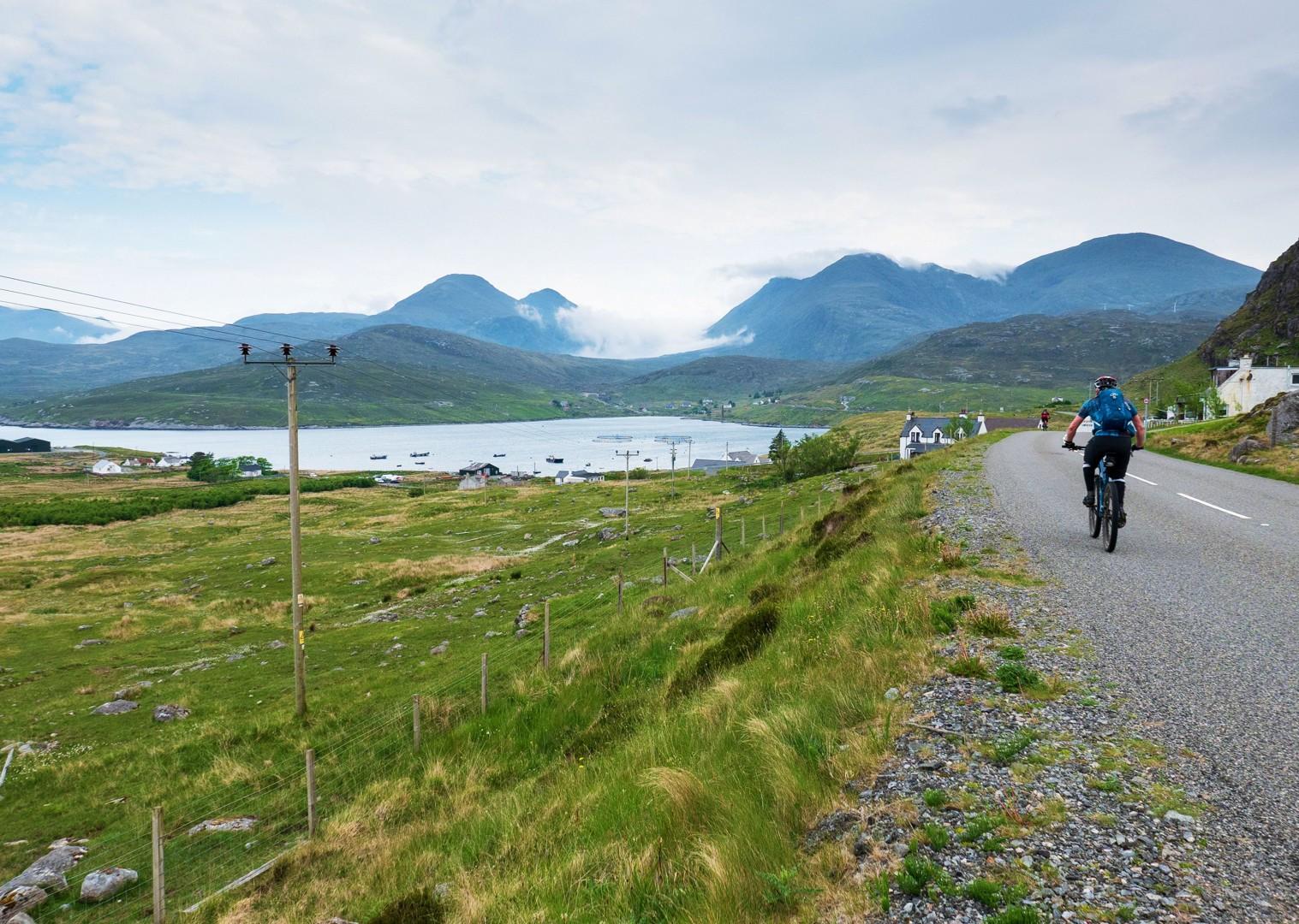 mountain-landscapes-cycling-holiday-in-outer-hebrides-scotland.jpg - Scotland - Hebridean Explorer - Guided Mountain Bike Holiday - Mountain Biking