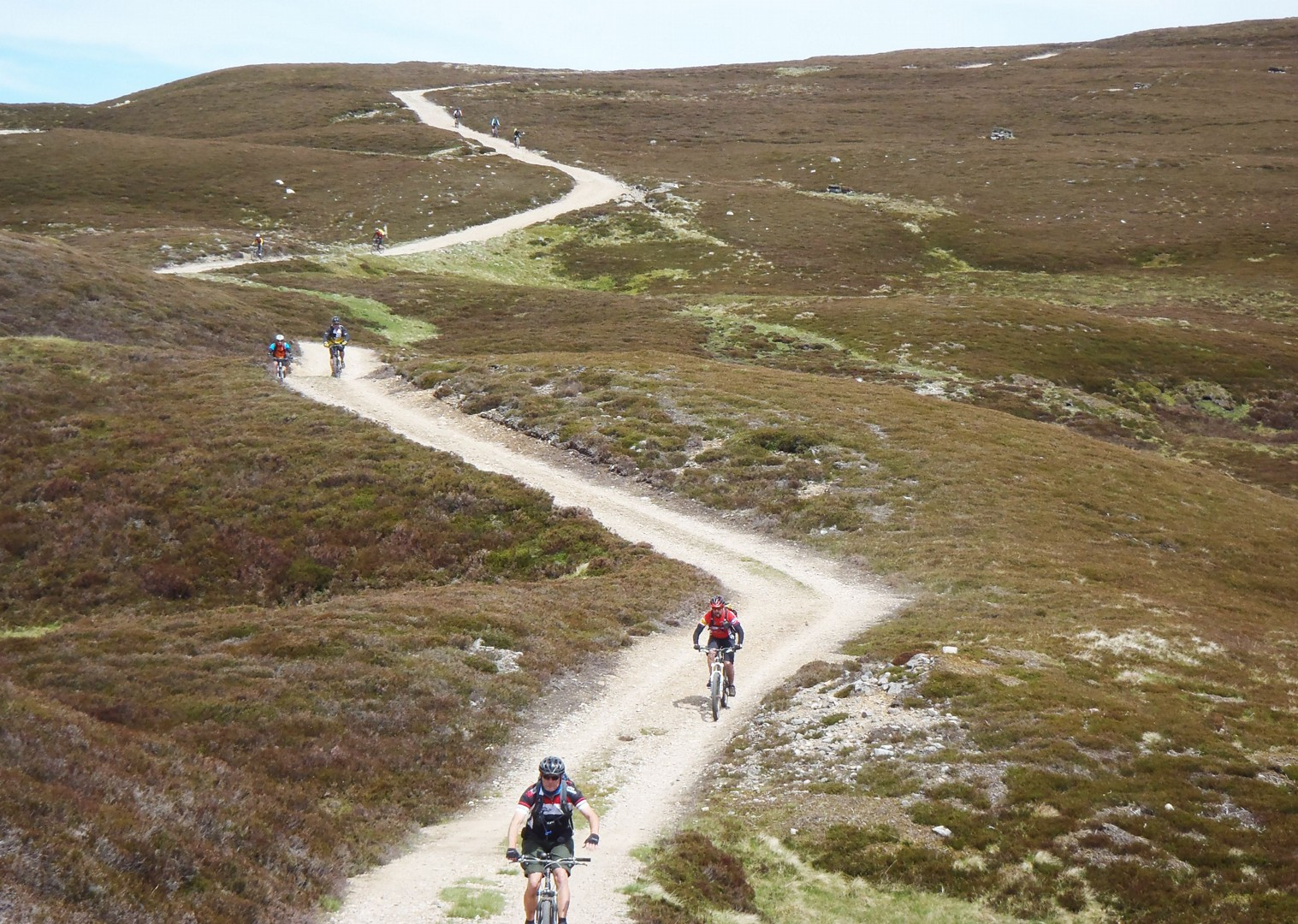 challenging-trails-group-mountain-bike-holiday.jpg - Scotland - Celtic Crossing - Guided Mountain Bike Holiday - Mountain Biking