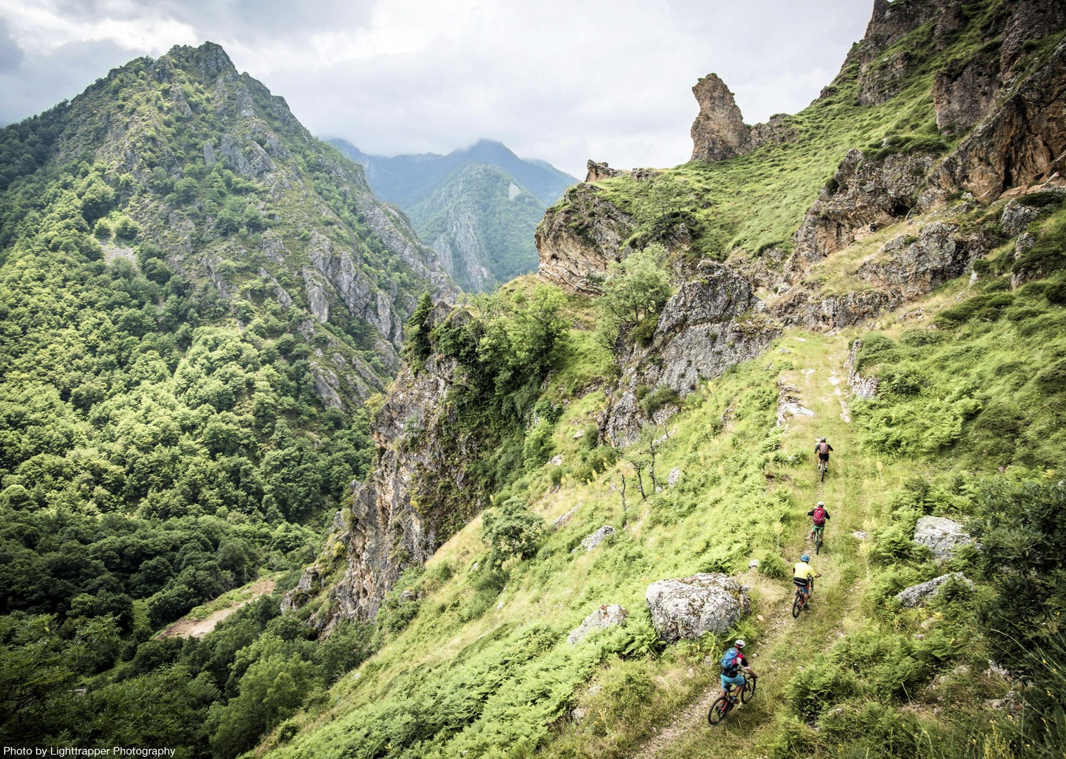 dramatic-mountain-biking-northern-spain-picos-de-europa.jpg - Spain - Picos de Europa - Trans Picos - Guided Mountain Bike Holiday - Mountain Biking