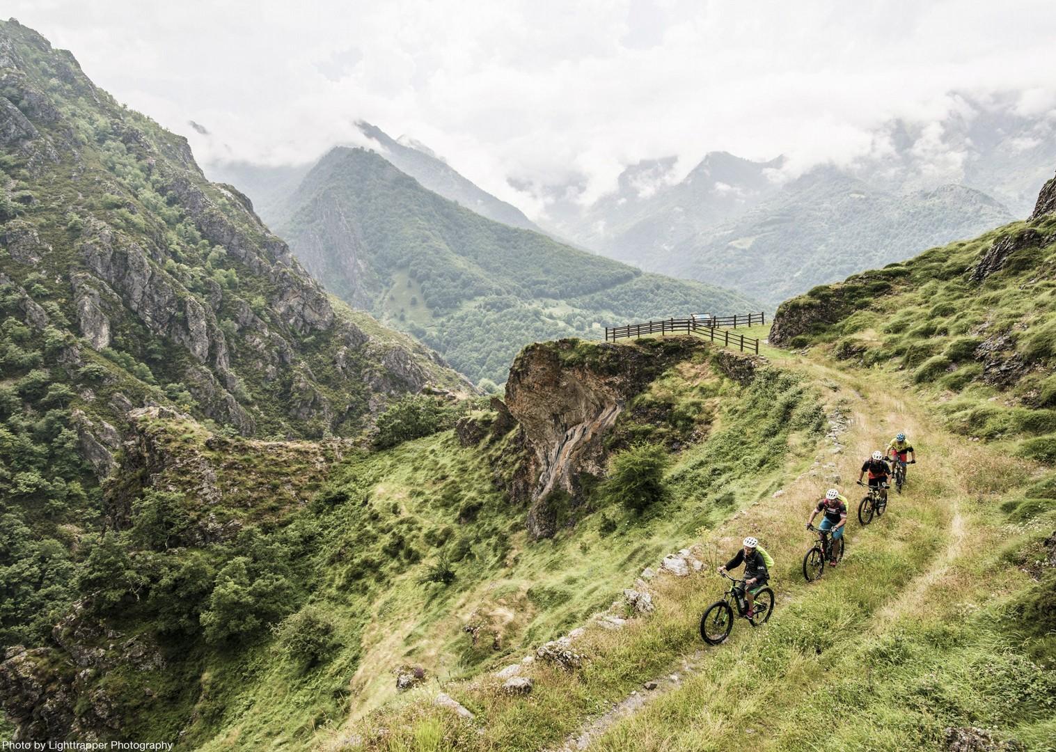 group-guided-cycling-northern-spain-picos-de-europa.jpg - Spain - Picos de Europa - Trans Picos - Guided Mountain Bike Holiday - Mountain Biking