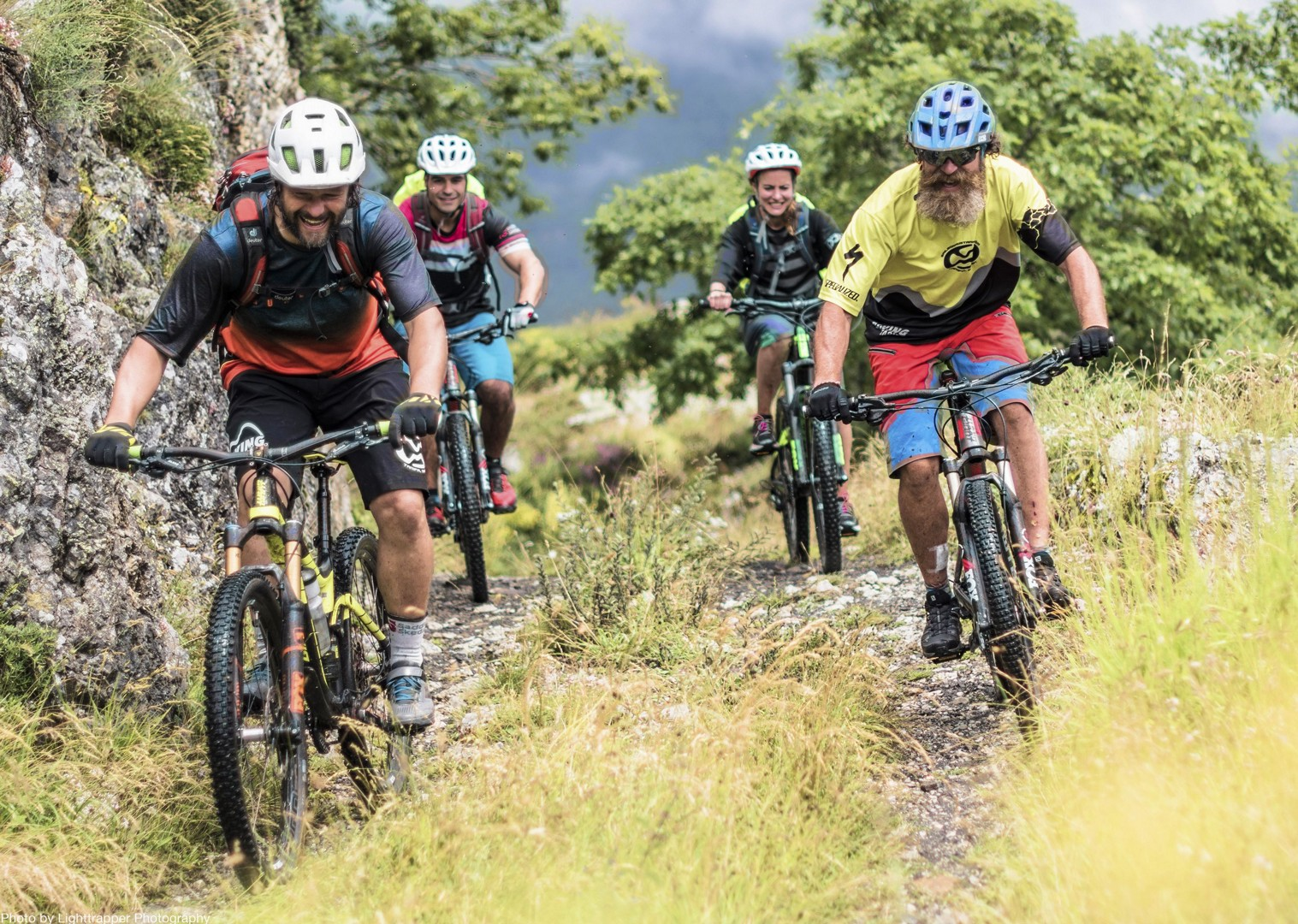 group-guided-mountain-biking-northern-spain-cares-gorge.jpg - Spain - Picos de Europa - Trans Picos - Guided Mountain Bike Holiday - Mountain Biking