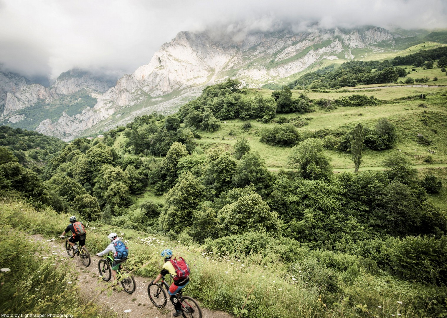 group-exploration-adventure-mountain-biking-northern-spain-picos-de-europa.jpg - Spain - Picos de Europa - Trans Picos - Guided Mountain Bike Holiday - Mountain Biking
