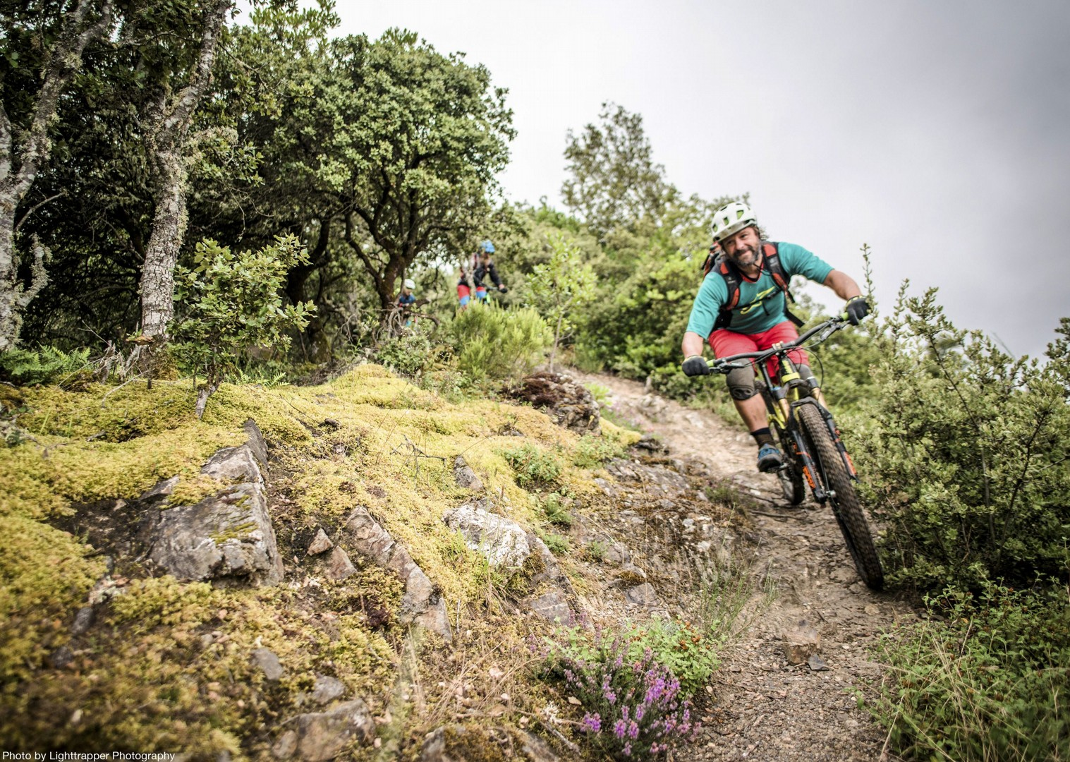 technical-singletrack-terrain-mtb-mountain-biking-cycling-northern-spain-picos-de-europa.jpg - Spain - Picos de Europa - Trans Picos - Guided Mountain Bike Holiday - Mountain Biking