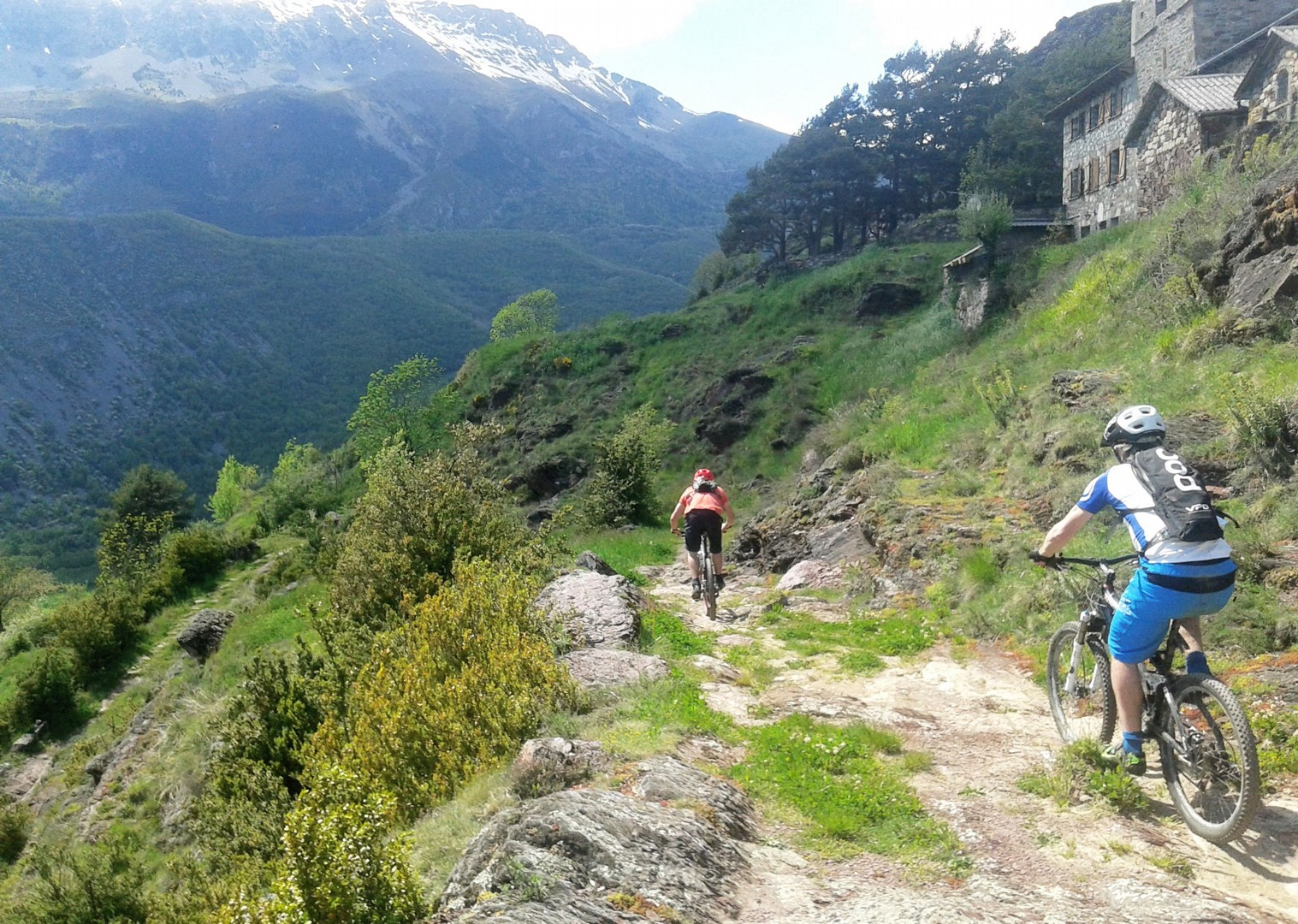 20160516_161806.jpg - Spain - Pyrenees Enduro - Guided Mountain Bike Holiday - Mountain Biking