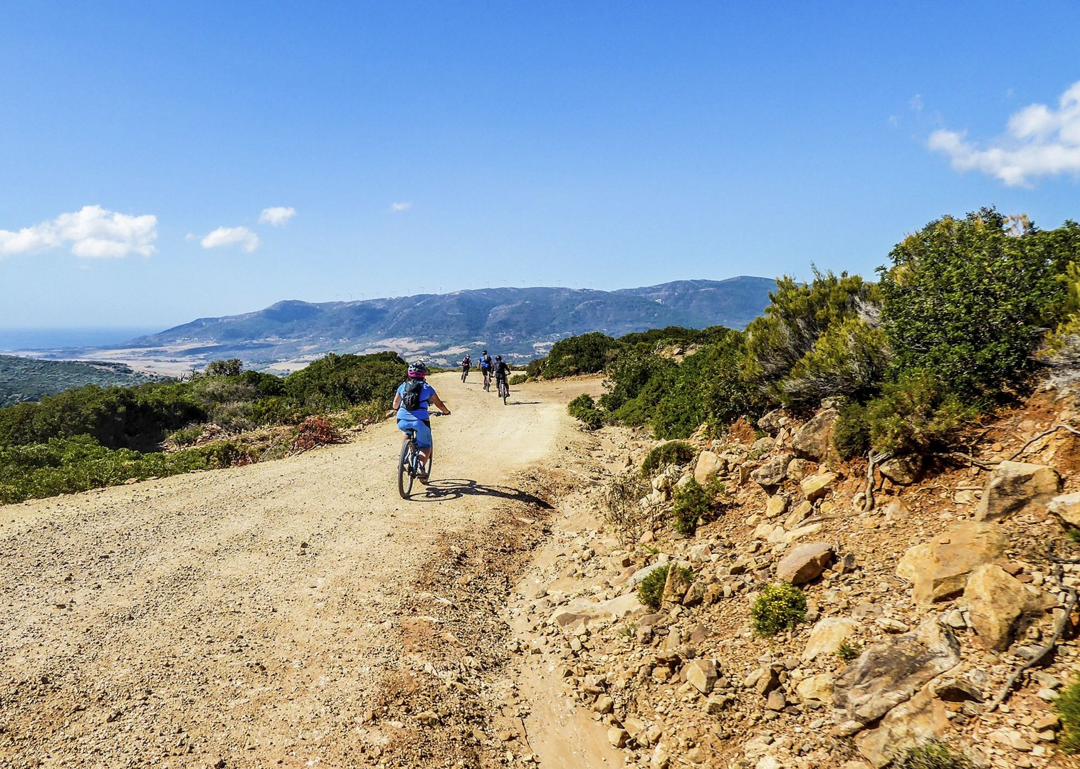rocky-chutes-el-chorro-spain-mountain-biking-skedaddle.jpg - Spain - Awesome Andalucia - Guided Mountain Bike Holiday - Mountain Biking