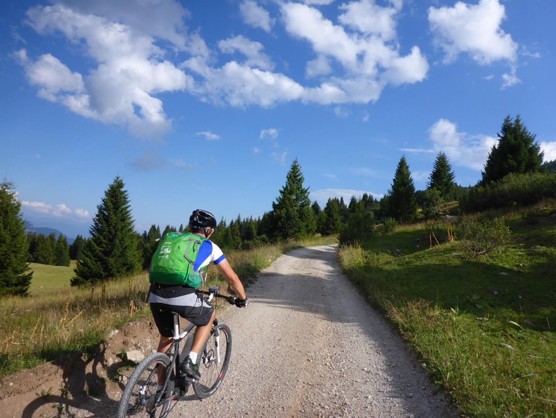 Skedaddle Dolomiti MTB - 0585.jpg - Italy - Dolomites of Brenta - Guided Mountain Bike Holiday - Mountain Biking