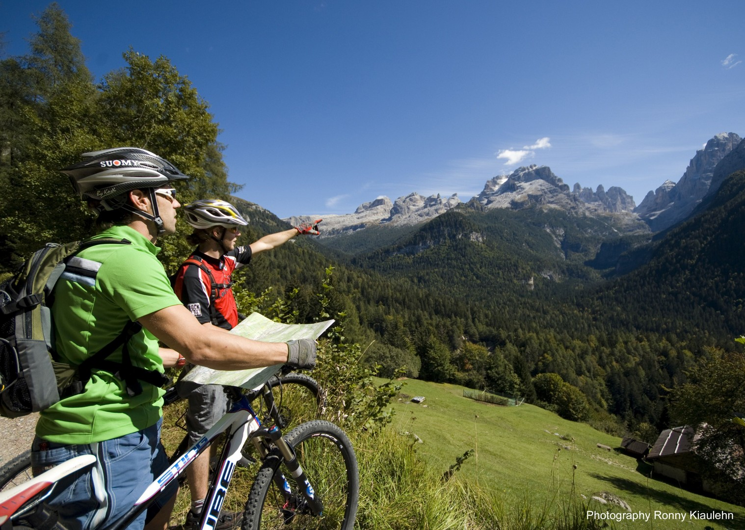 dolomites7.jpg - Italy - Dolomites of Brenta - Guided Mountain Bike Holiday - Mountain Biking