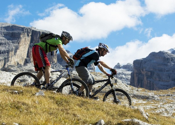 Italy - Dolomites of Brenta - Guided Mountain Bike Holiday Image