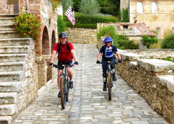Italy - Tuscany - Sacred Routes - Self Guided Mountain Bike Holiday Image