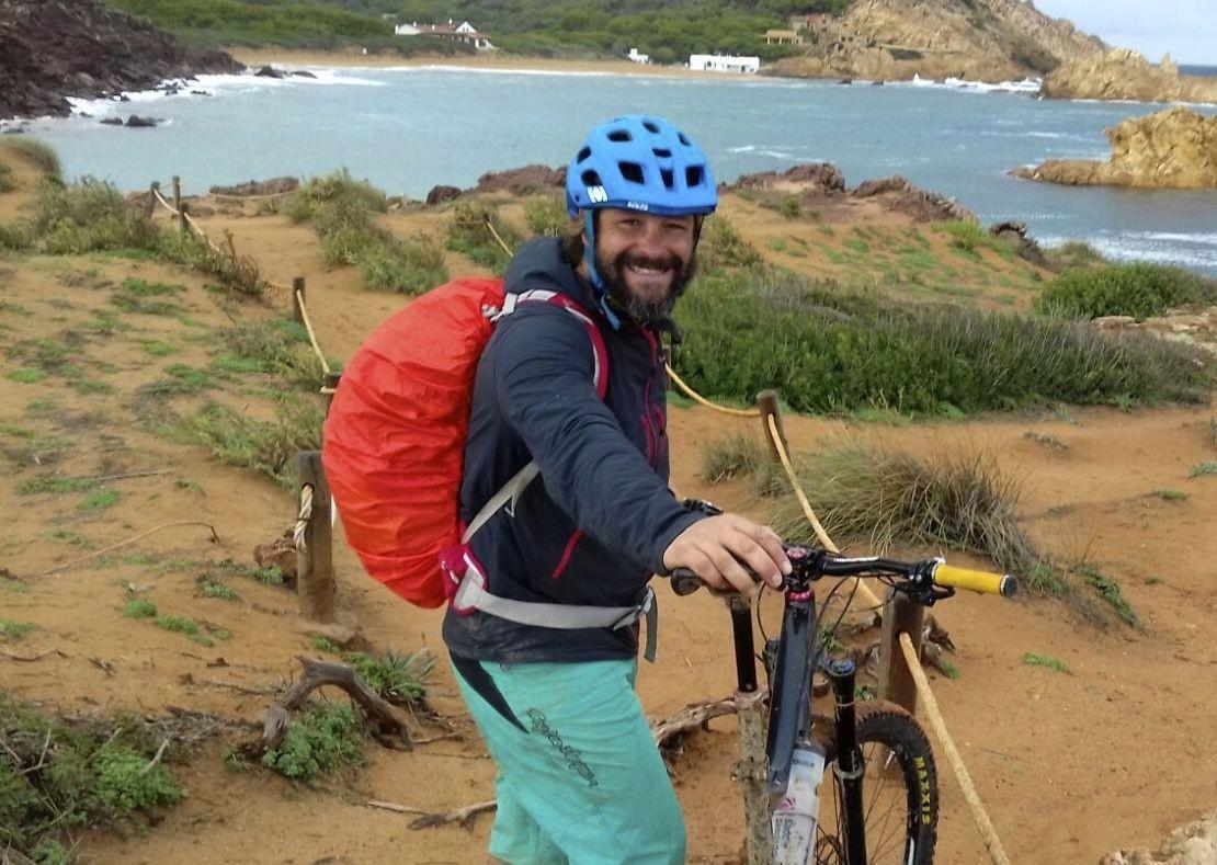 mountain-biking-holiday-spain-guide-beach.jpg - Spain - Menorca - Cami de Cavalls - Guided Mountain Bike Holiday - Mountain Biking