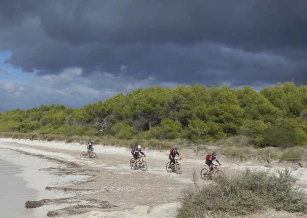 mountain-biking-holiday-spain-beach.jpg - Spain - Menorca - Cami de Cavalls - Guided Mountain Bike Holiday - Mountain Biking