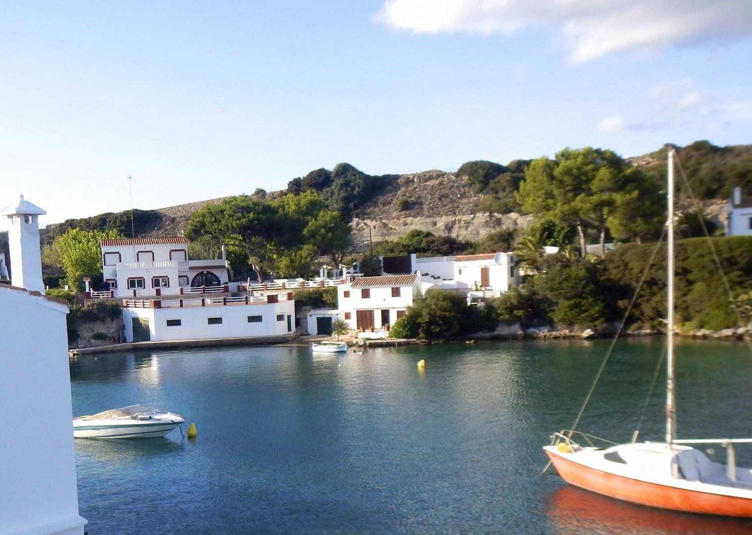 mountain-biking-holiday-menorca-coast-port.jpg - Spain - Menorca - Cami de Cavalls - Guided Mountain Bike Holiday - Mountain Biking