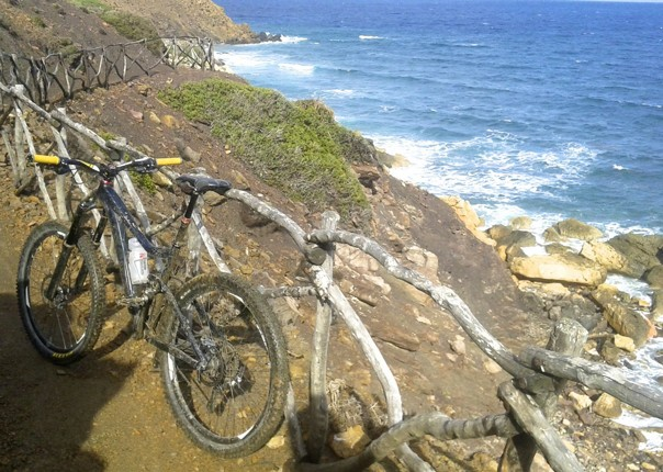 mountain-biking-holiday-menorca-trail-coast.jpg - Spain - Menorca - Cami de Cavalls - Guided Mountain Bike Holiday - Mountain Biking