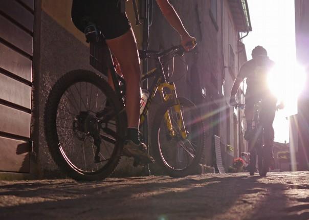 mountain-biking-holiday-italy-tuscany-francegina-town.jpg - Italy - Via Francigena (Tuscany to Rome) - Guided Mountain Biking Holiday - Mountain Biking