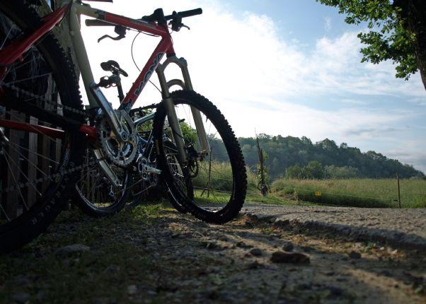 Ready to go.jpg - Italy - Via Francigena (Tuscany to Rome) - Guided Mountain Biking Holiday - Mountain Biking